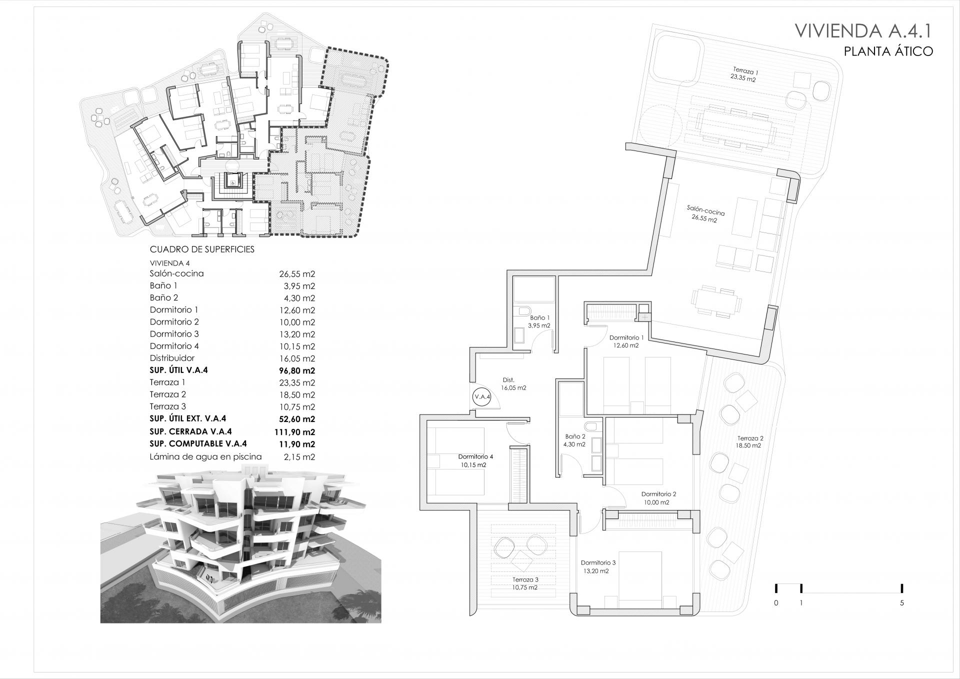 A4.1 - Edificio Ventura Ocean View